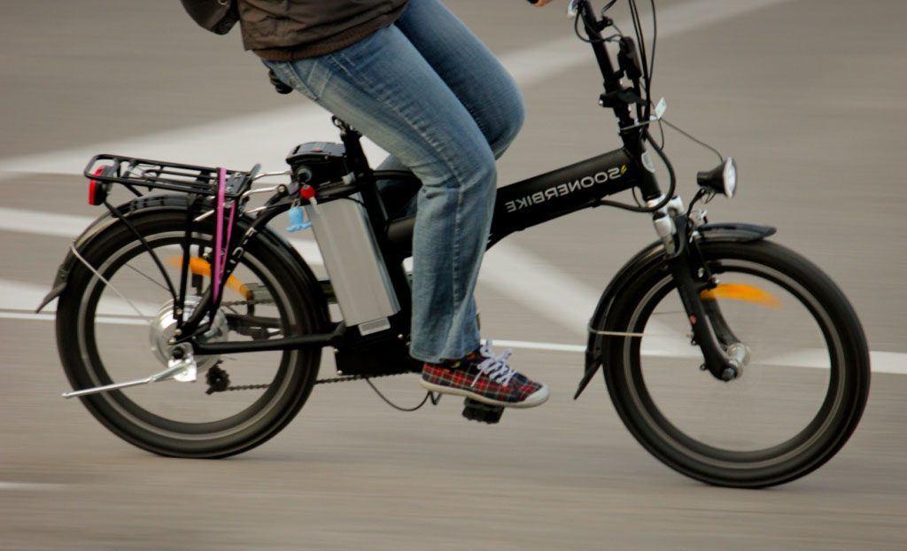 Bicicleta eléctrica barata