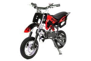 Dirtbike Crossbike DS67 Minimoto roja de gasolina