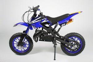 Minimoto de motocross Dirtbike Apollo Azul