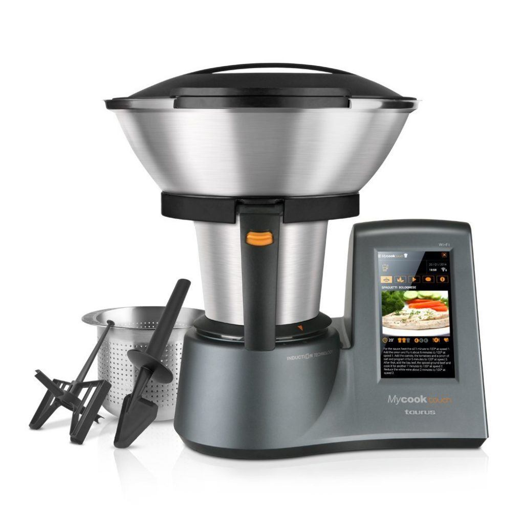 Robot de cocina por inducción Taurus Mycook Touch
