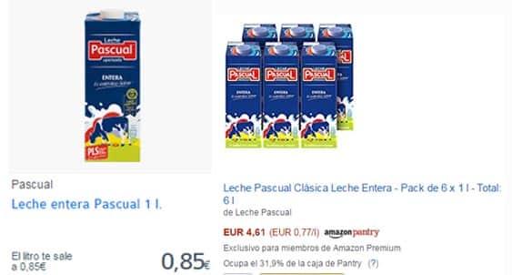 Comprar Leche Pascual al mejor precio