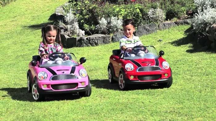 Los mejores coches de batería para niños