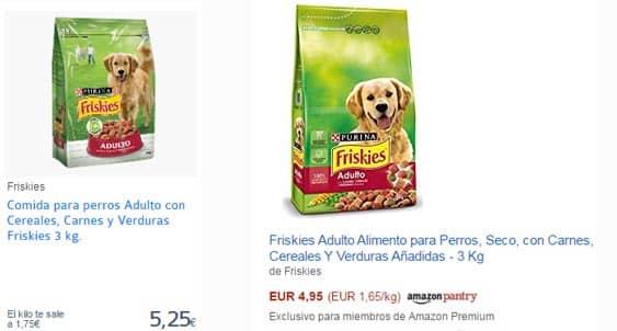 Pienso para perros supermercado online