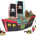 Barco pirata de cartón Krooom