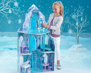 Casa de muñecas Mansión de Frozen