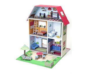 Casa de muñecas para jugar Krooom K-304