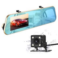 Videocámara para coches espejo isYoung