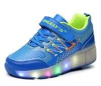 Zapatillas con ruedas y luces baratas