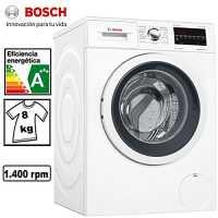 Lavadora de 8 Kilos Bosch WAT28469ES