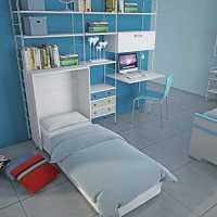 Mueble cama abatible Maconi - 80 x 190