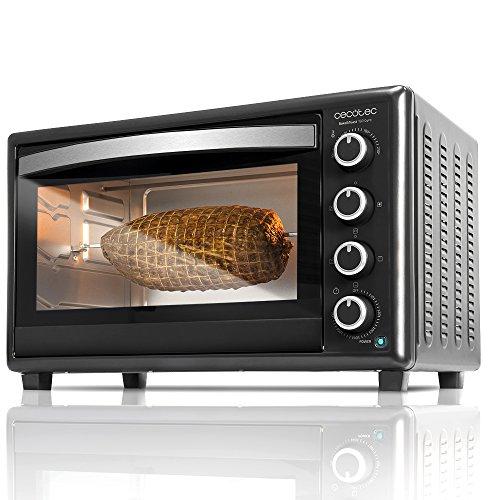 Horno de sobremesa con asador giratorio Cecotec Bake&Toast 750