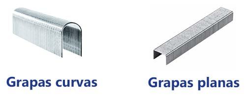 Tipos de grapas para grapadora eléctrica