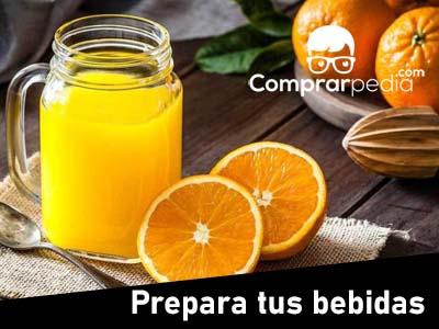 Utensilios para preparar bebidas sanas en casa