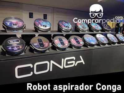 Mejor robot aspirador Conga