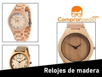 Mejores relojes de madera de pulsera