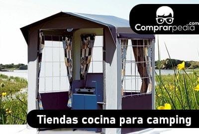 La mejor tienda cocina para camping barata