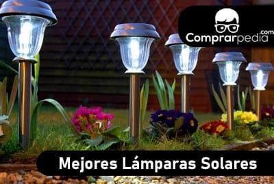 Las mejores lámparas solares para jardín