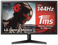LG 24GL600F-B (Panel TN, 144Hz, 1ms, Full HD)