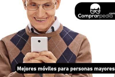 Mejores móviles para personas mayores
