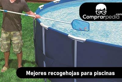 Mejores recogehojas para piscinas