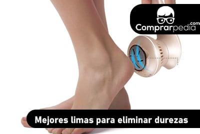 Mejor lima eléctrica para eliminar durezas de los pies