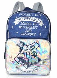 Mochila de Harry Potter con escudo de Hogwarts