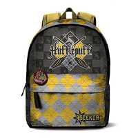 Mochila escolar de Harry Potter Casa Hufflepuff