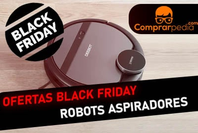 Ofertas de robots aspiradores en Black Friday