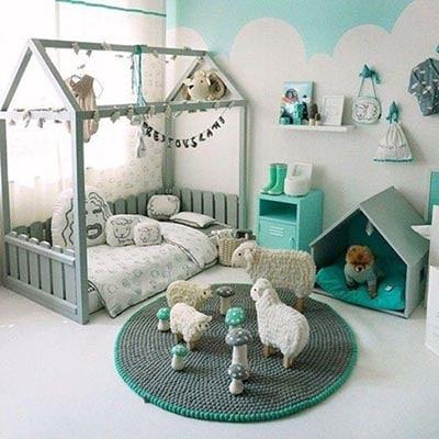 Ejemplo de habitación Montessori