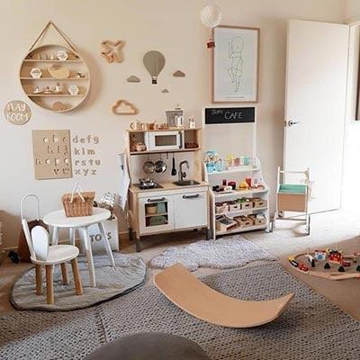 Otro ejemplo de una habitación Montessori