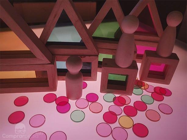 Que LED es mejor para una mesa de luz Montessori