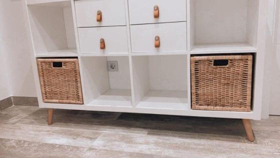 Patas de madera para muebles de Ikea