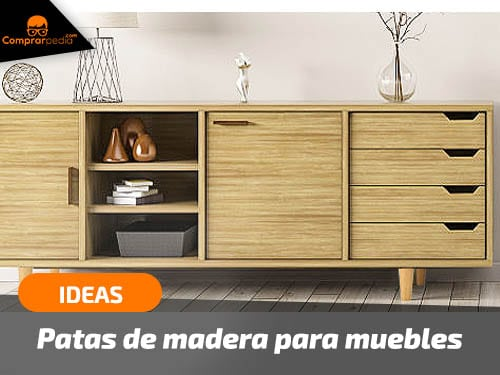 Patas de madera para muebles