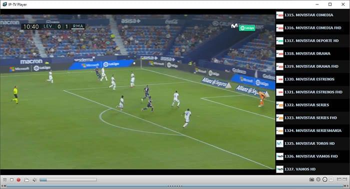 Ver Movistar Plus gratis con IPTV para PC Windows