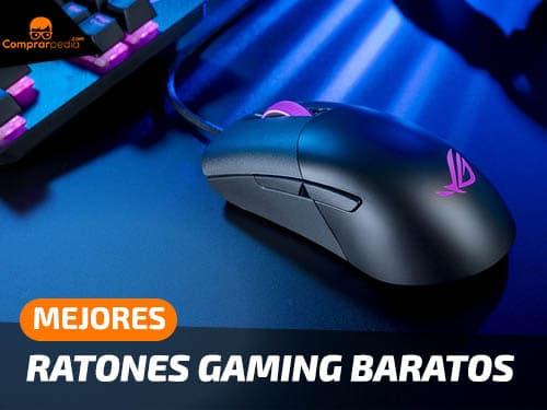 Mejores ratones gaming baratos y buenos