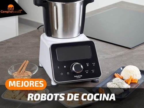 Mejores robots de cocina con recetas guiadas