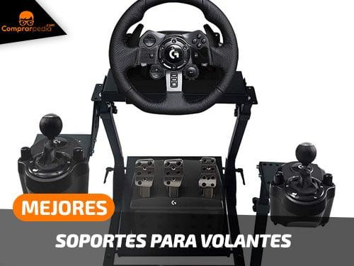 Mejores soportes para volantes
