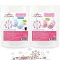 Azúcar para algodón rosa y azul – 440g