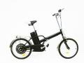 Bici eléctrica plegable Miranda color negro