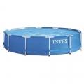 Intex Metal Frame – Piscina para 7 personas