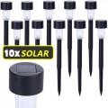 Lote de 10 farolillos solares