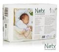 100 pañales Eco para recién nacidos Naty by Nature